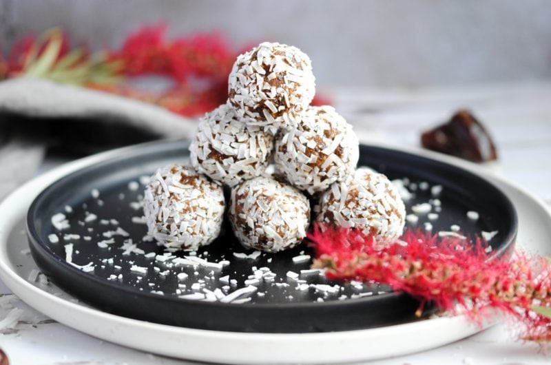 Coconut Covered Energy Balls
