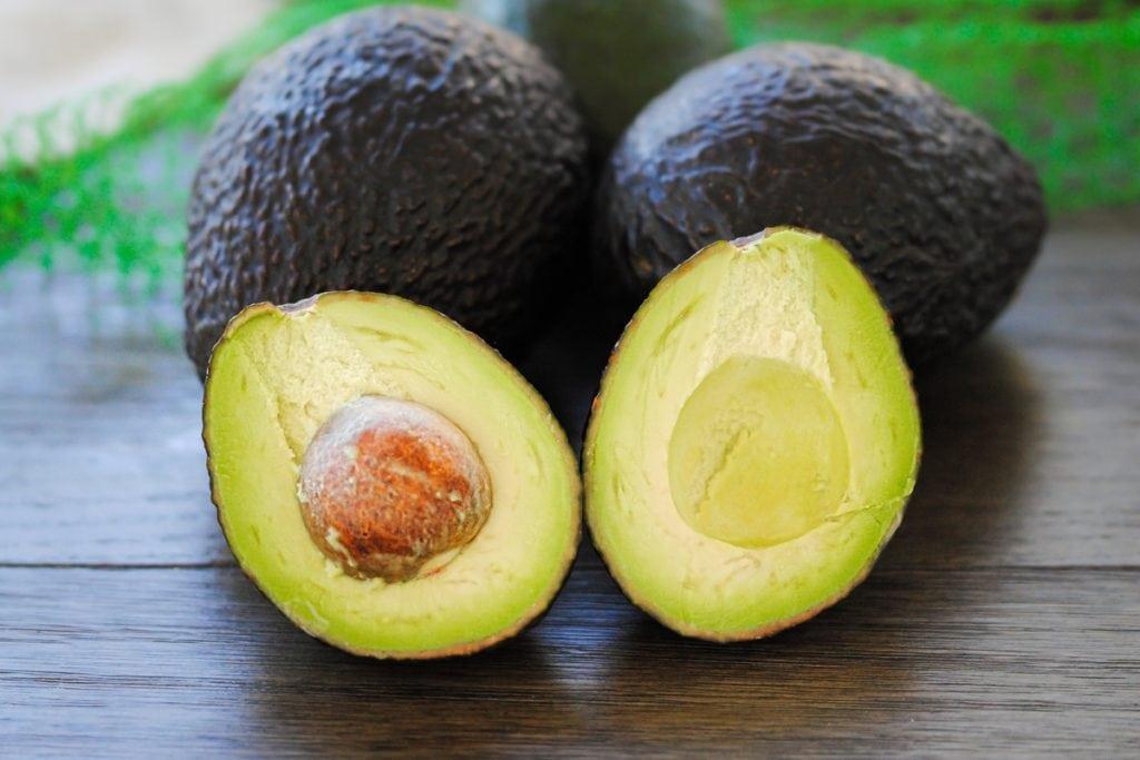 Close up shot of Avocados