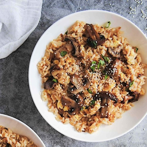 Famous Mushroom Fried Rice - New Featured Image