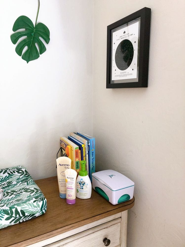 Diaper Changing Station | FurloughedFoodie.com