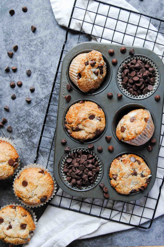 Portrait of Muffins in Tin