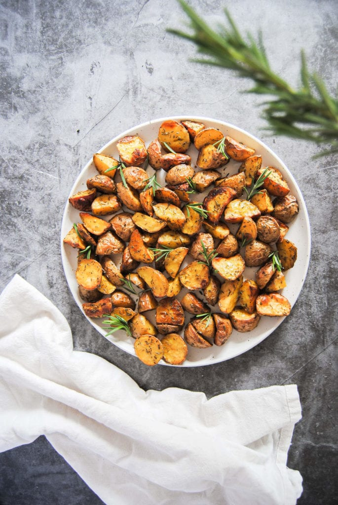 Simple 4 Ingredient Roasted Potatoes - Quality Portrait