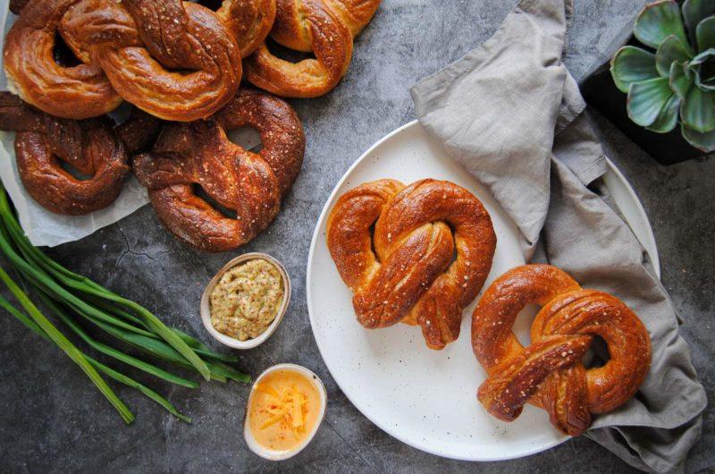 Homemade German Soft Pretzels