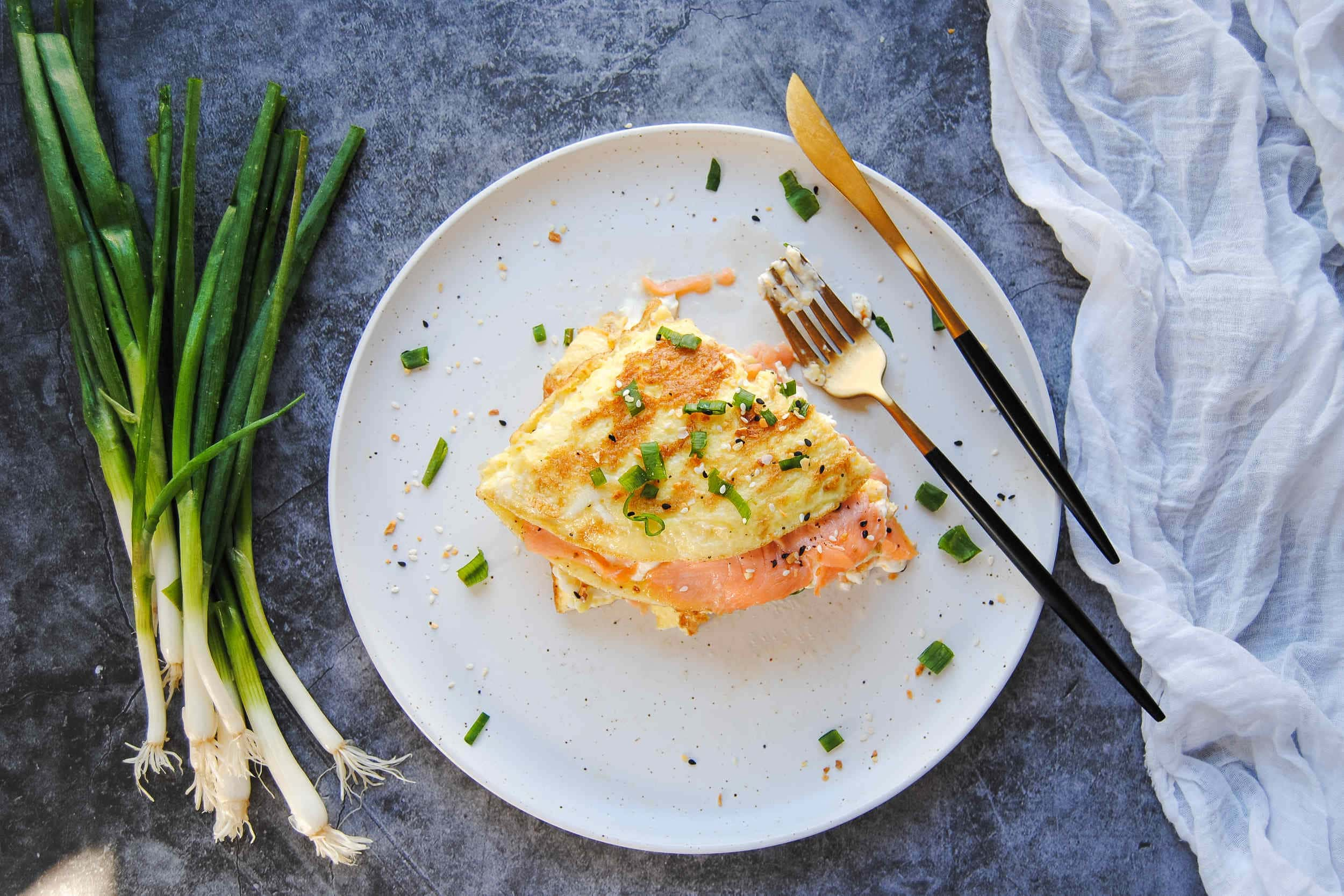 Lox and Schmear Omelet - Featured Image