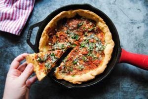 Quick Knead and Rise Pizza Dough - Featured Image