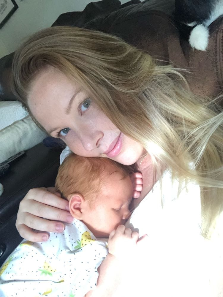 You Can Hate Being Pregnant But Love Being A Mom - With Charlie   FurloughedFoodie.com