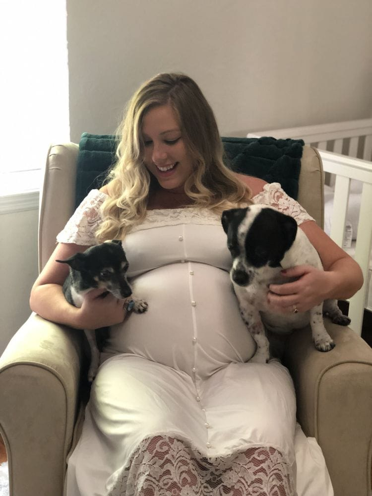 You Can Hate Being Pregnant But Love Being A Mom - With Dogs   FurloughedFoodie.com