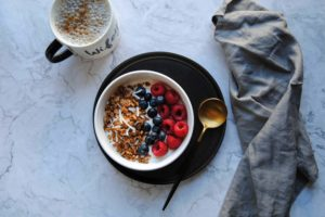 Simple Crunchy Coconut Granola - Featured Image