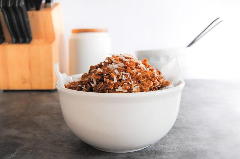 Simple Crunchy Coconut Granola