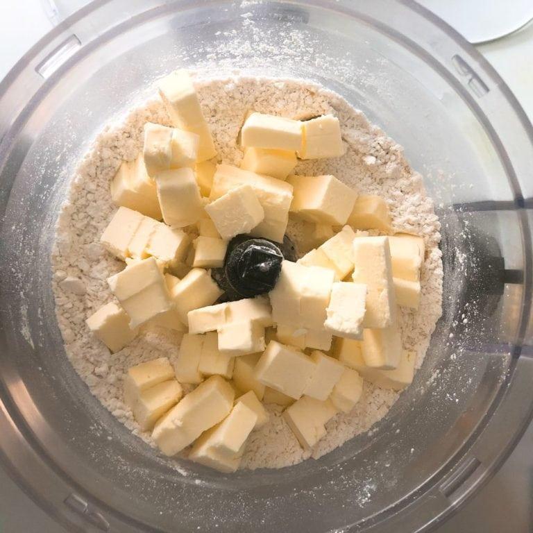 Bourbon Apple Pie - Crust In Food Processor