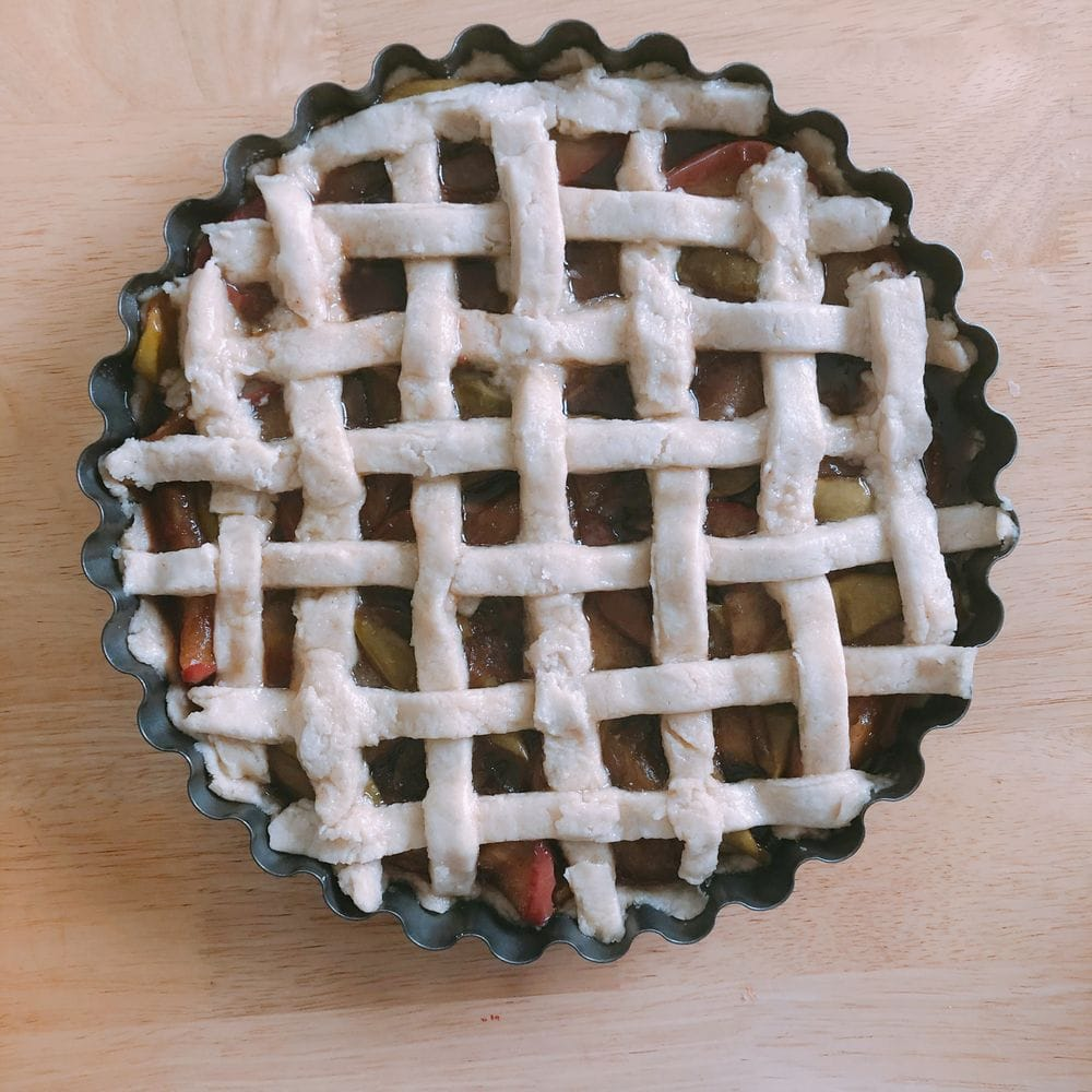 Bourbon Apple Pie - Ready For Oven