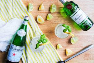Citrus & Basil Gin Smash - Featured Image