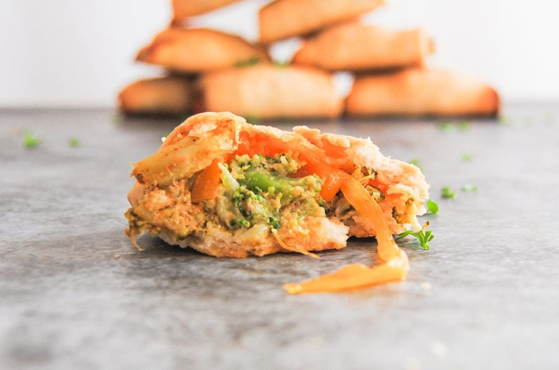 Rustic Broccoli Cheddar Bites