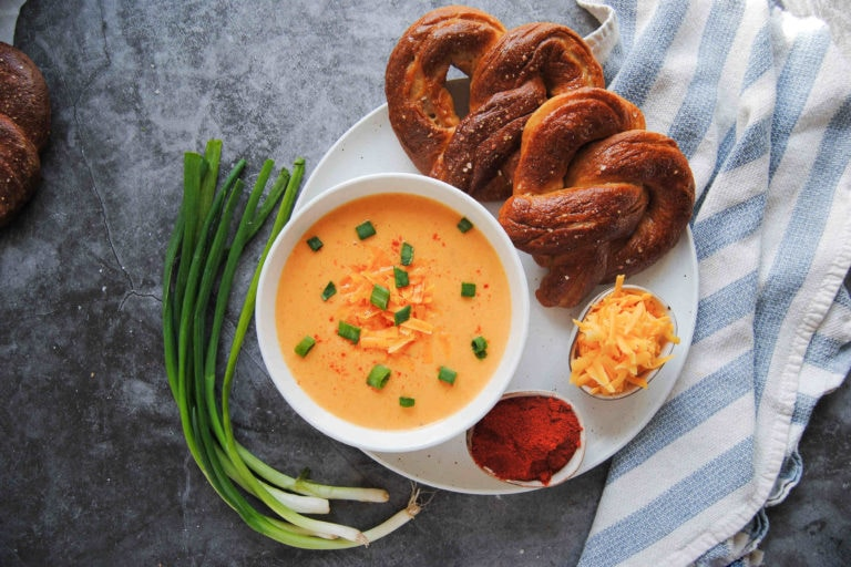 Basic Beer Cheese Dip - Featured Image