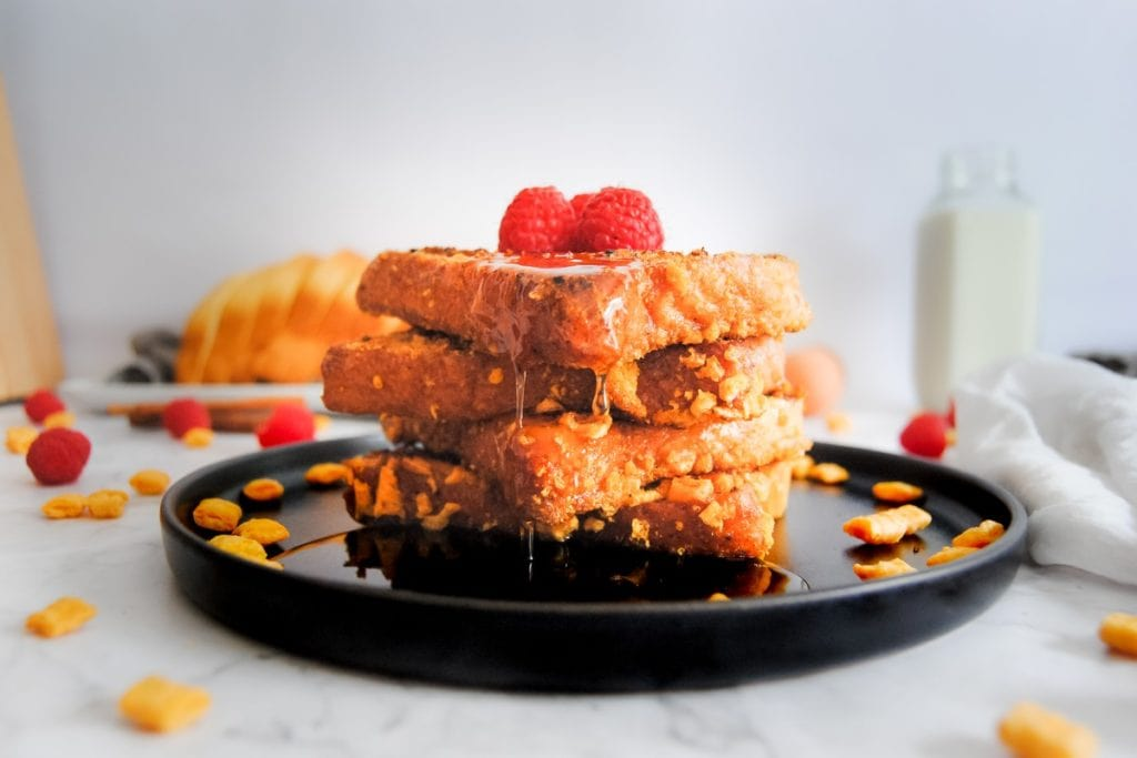 Captain Crunch French Toast - Dripping Syrup