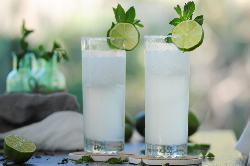 Fiery Ginger Beer & White Rum Mojito