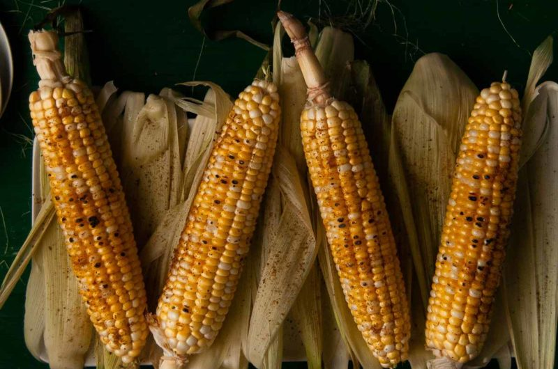 Grilled Corn on the Cob with Old Bay Seasoning