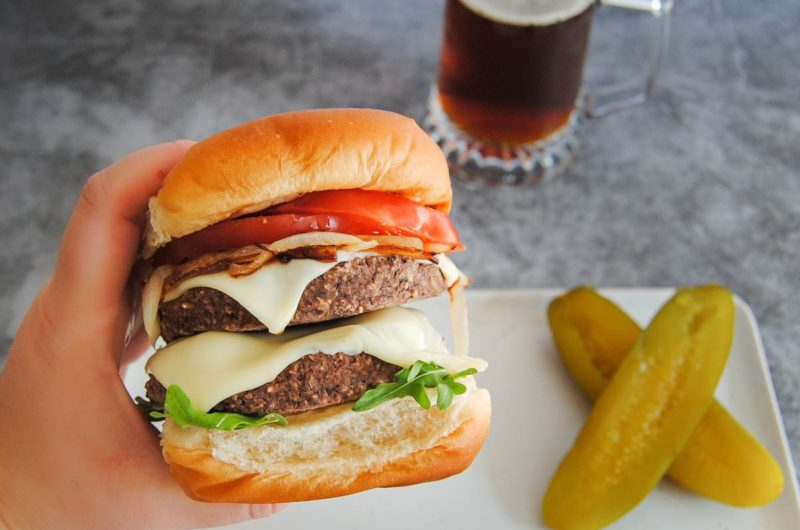 Smoky and Spicy Black Bean Burgers