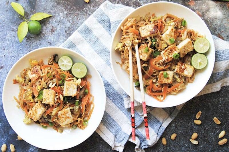 Thai Spicy Peanut Noodles