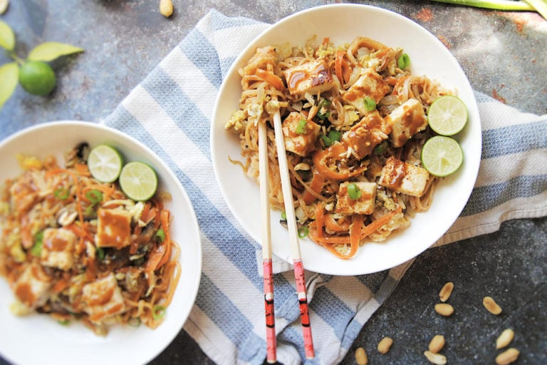 Thai Spicy Peanut Noodles -