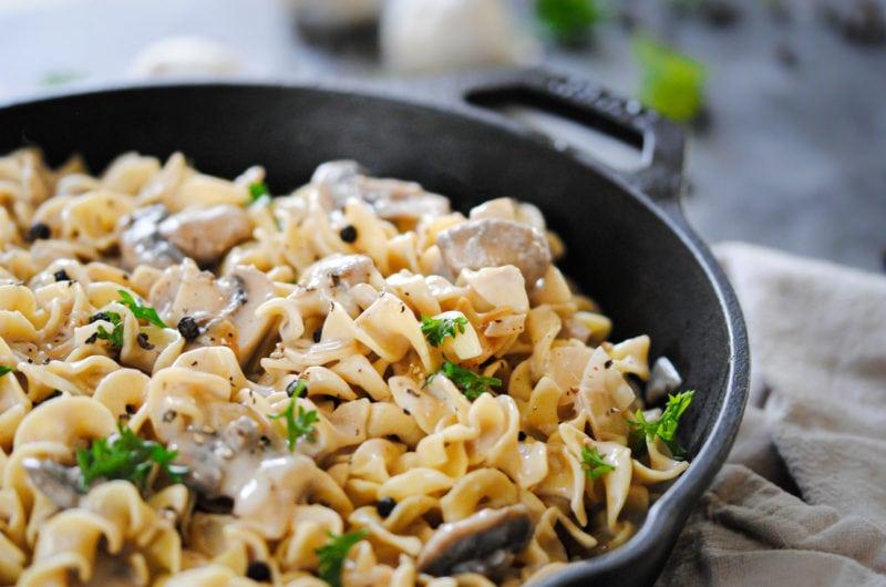 Easiest Cheat Mushroom Stroganoff