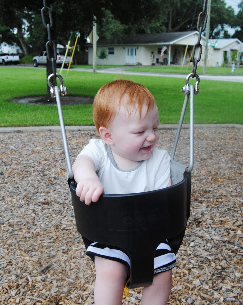 An Open Love Letter To My Son - On The Swings