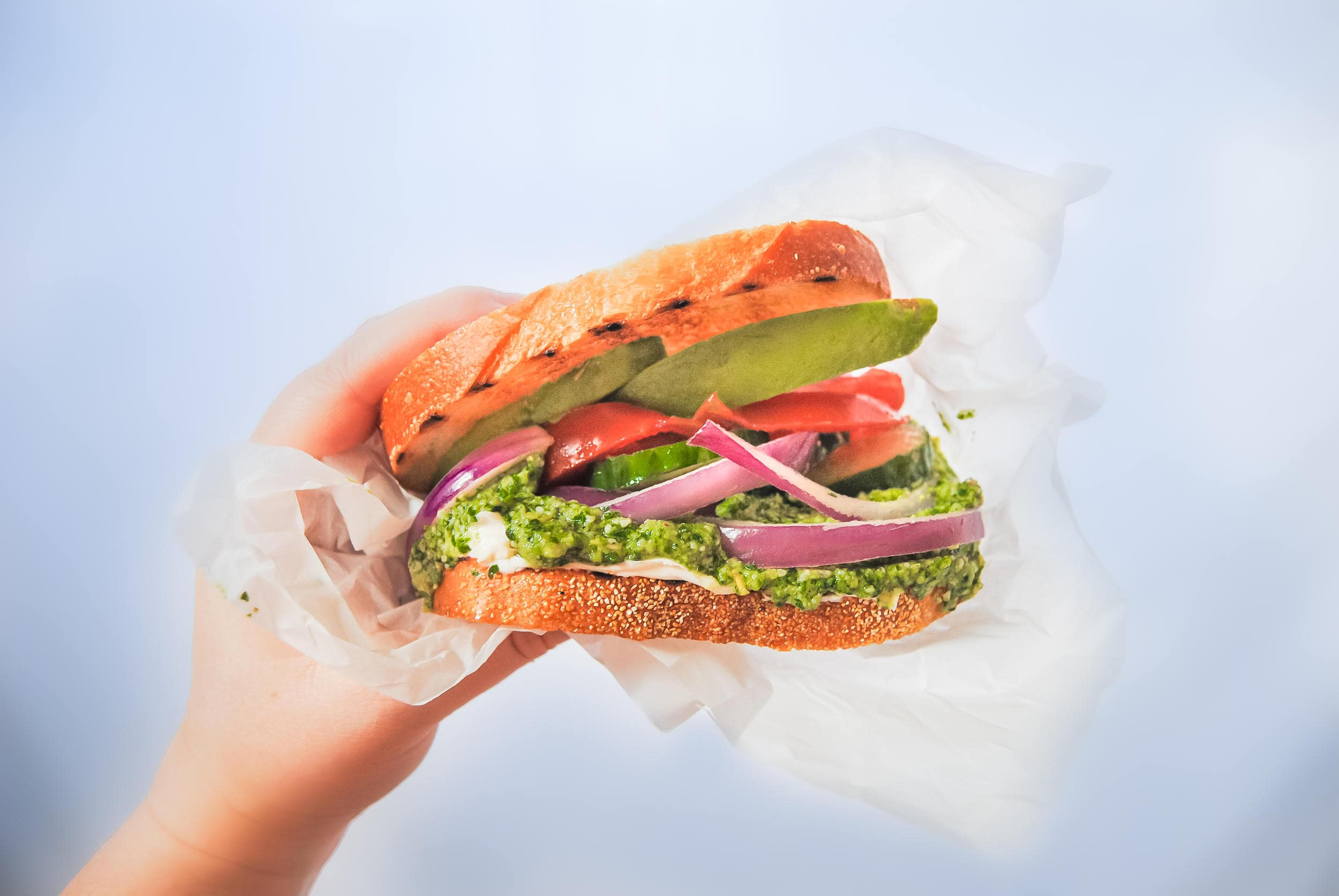 The Best Veggie Sandwich I've Ever Had - Featured Image