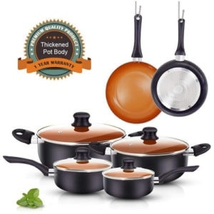 10pc Cookware
