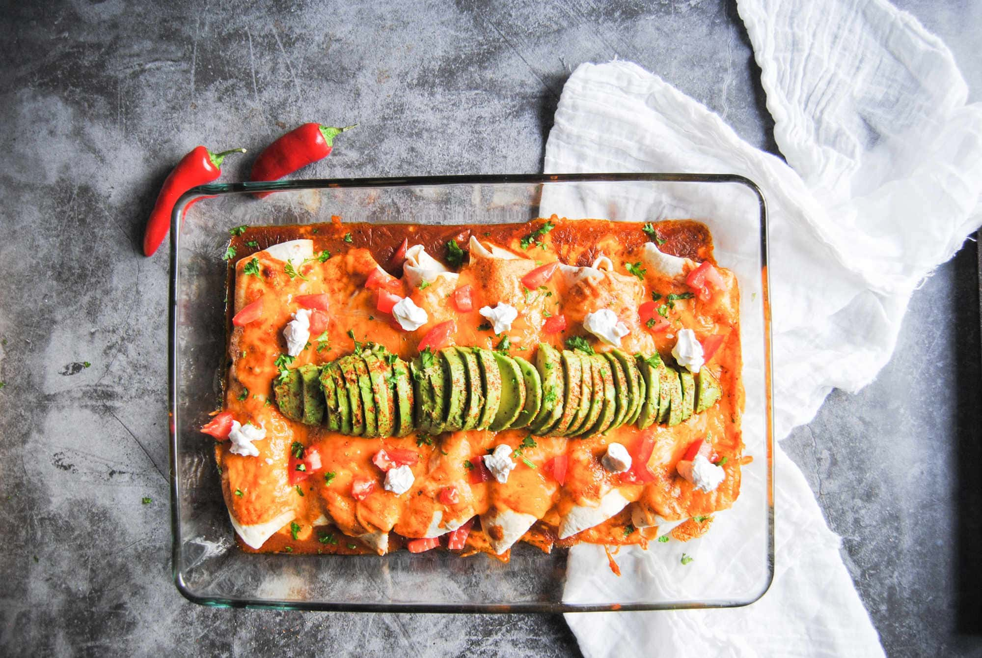Versatile Enchiladas With Homemade Sauce - New Featured Image