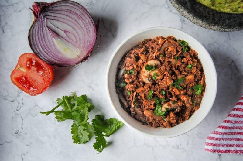 Healthy Lentil Taco Meat