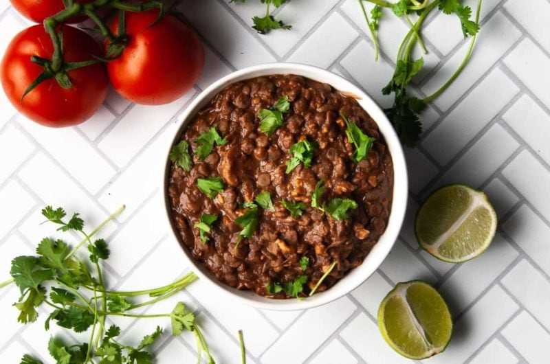 Healthy Lentil Walnut Taco Meat