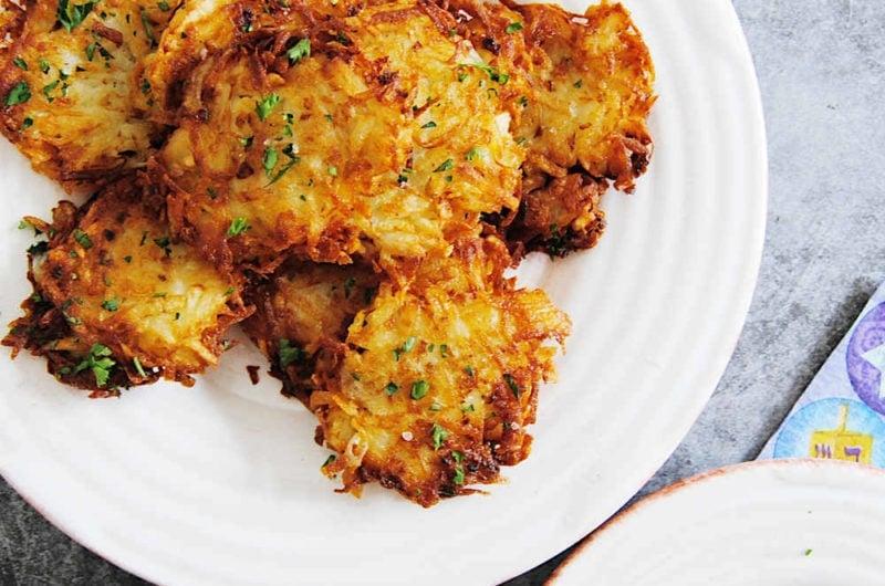 Great Grandma's Traditional Potato Latkes