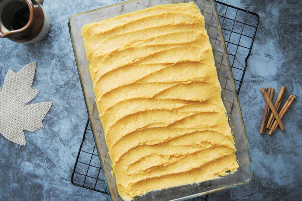 5-Ingredient Maple Sweet Potato Casserole - Before Marshmallows