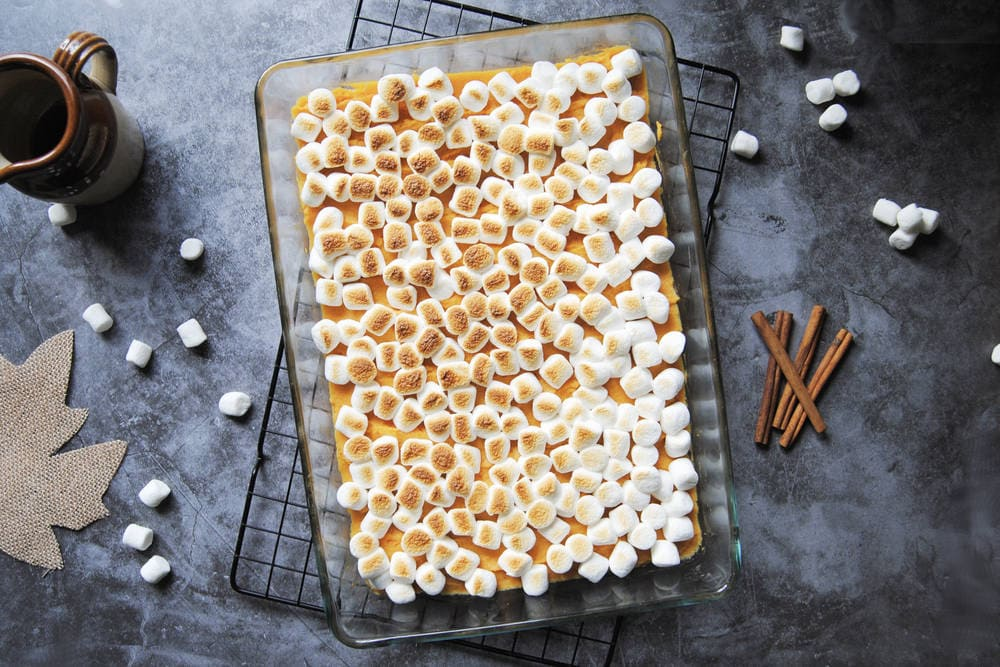 13 Exciting Recipes To Try Thanksgiving 2020 - 5-Ingredient Maple Sweet Potato Casserole