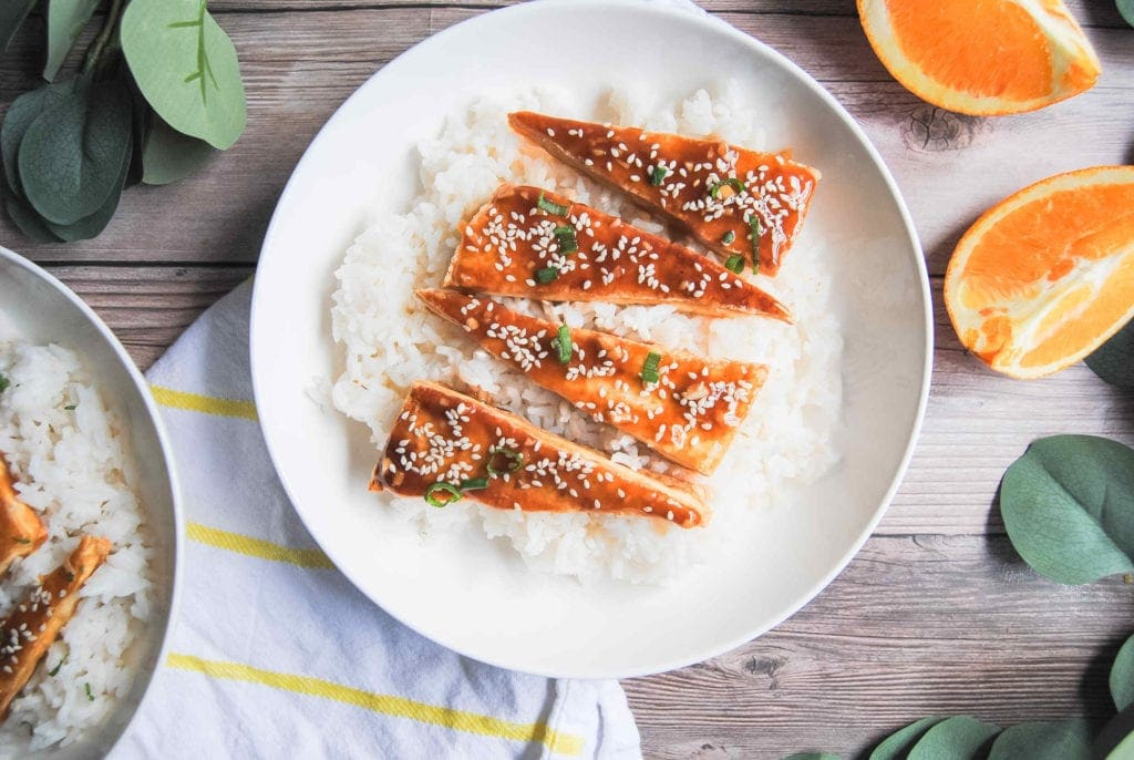 Sticky Orange Tofu - Featured Image
