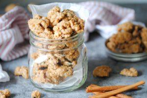 Candied Walnuts in a Jar
