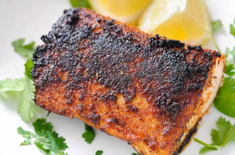 Blackened Mahi-Mahi with Homemade Seasoning