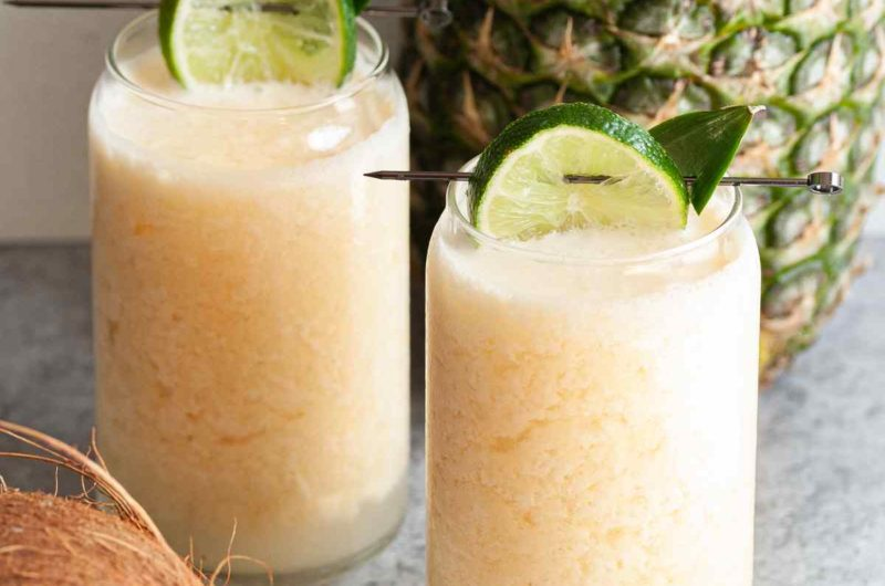 Frozen Pineapple Coconut Margarita