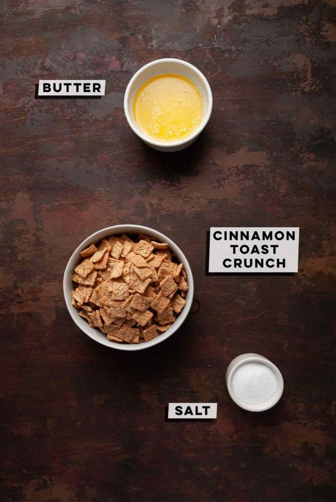 Melted Butter, Cinnamon Toast Crunch, and Salt