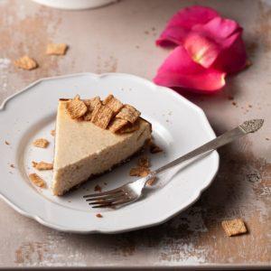 Slice of Cinnamon Toast Crunch Cheesecake