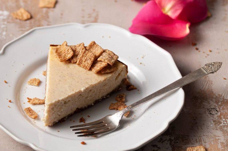 Epic Cinnamon Toast Crunch Cheesecake