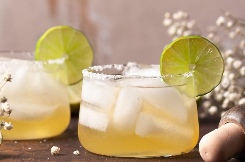 Refreshing Passion Fruit Margarita