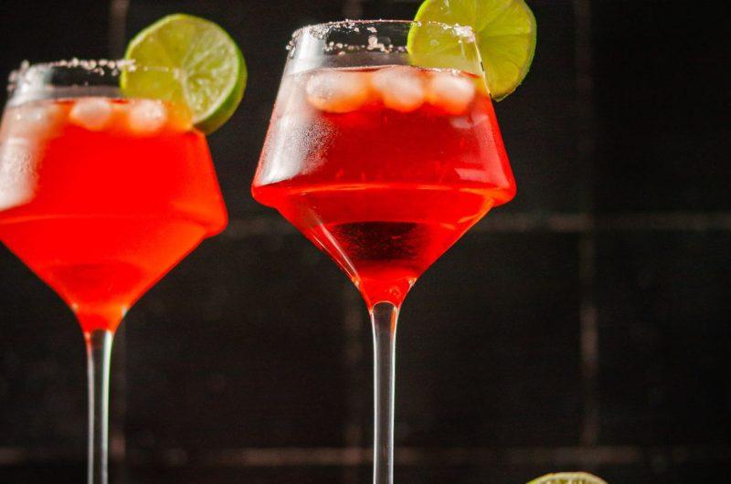 Vibrant Aperol Margarita