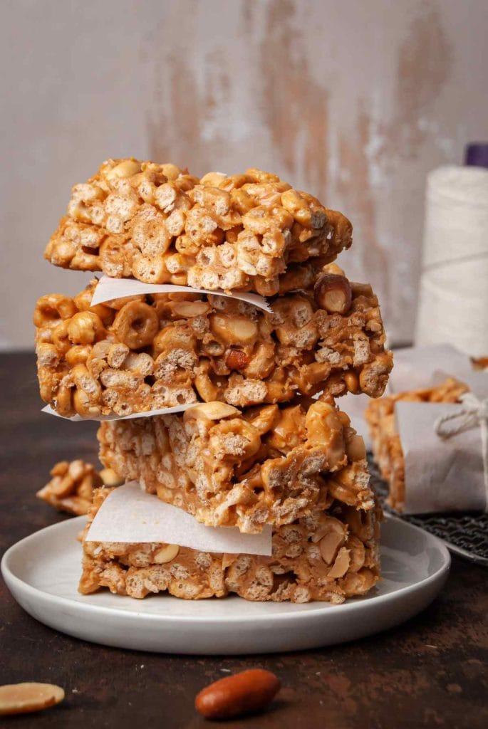 stack of cheerio bars