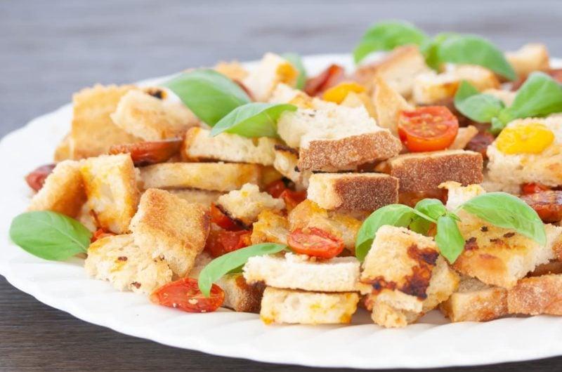 Easy Vegan Sheet Pan Panzanella