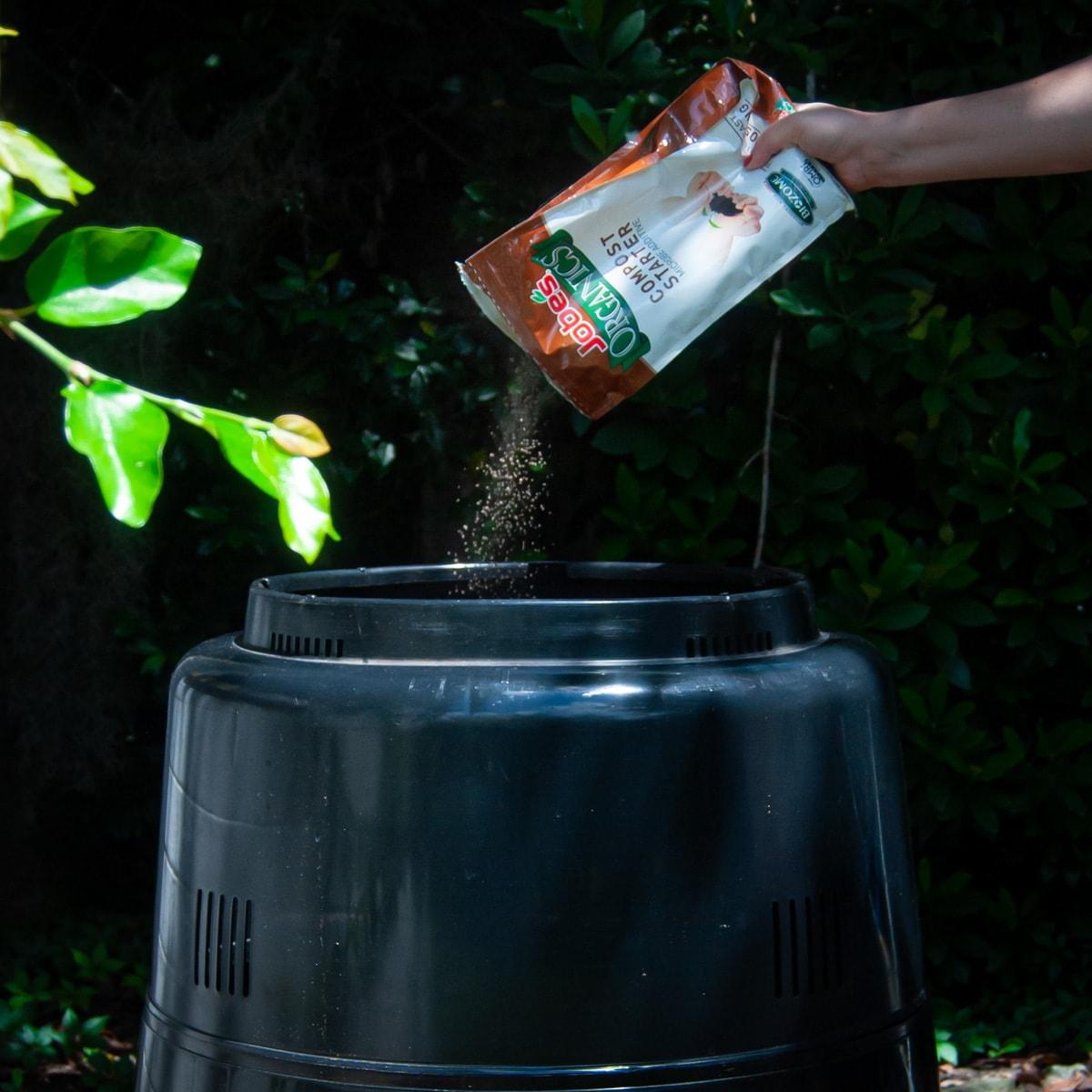 consider a compost starter