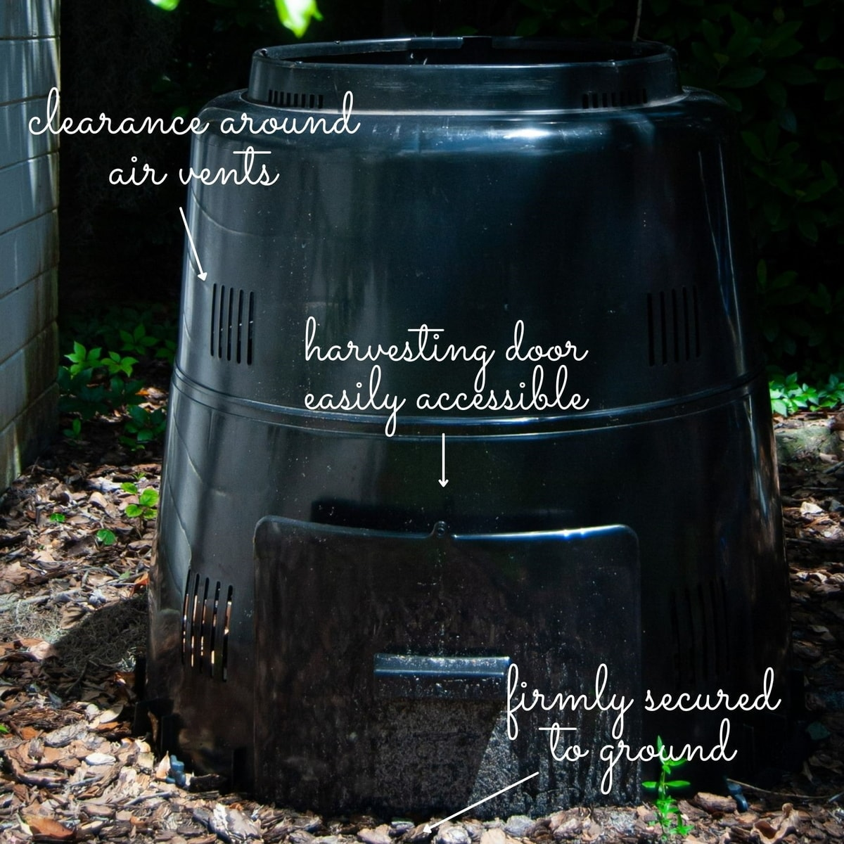 install your compost