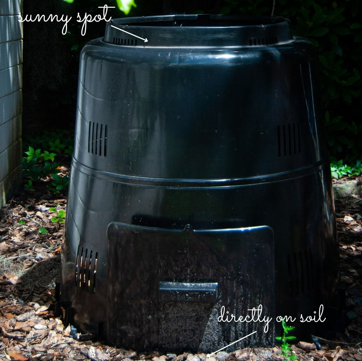 Choose A Spot For Your Compost