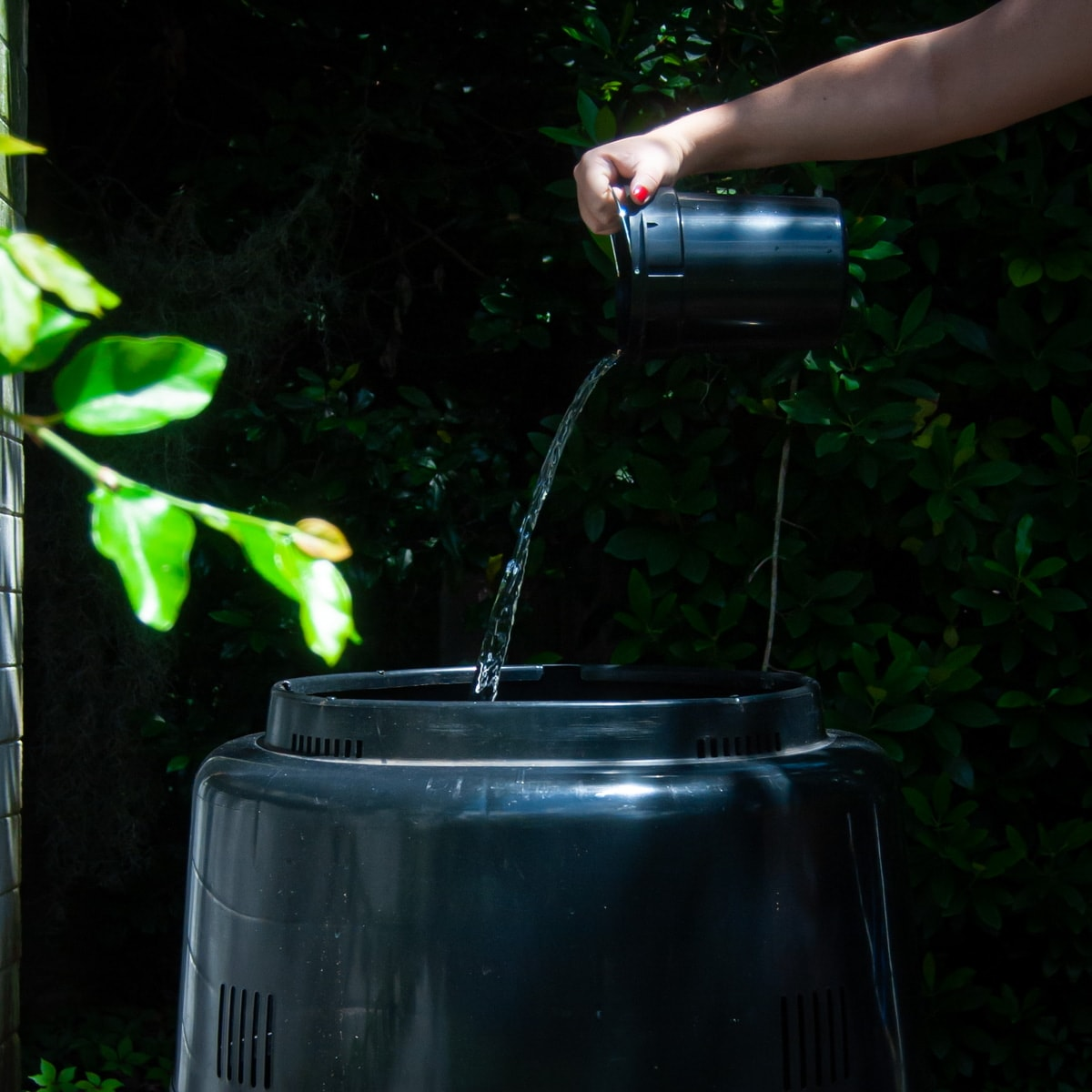 add water to your compost