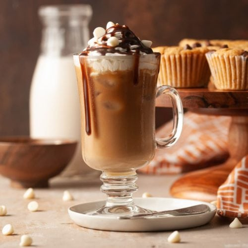 starbucks copycat iced white chocolate mocha